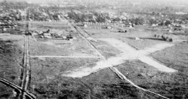 1930s photo of Page Field runways