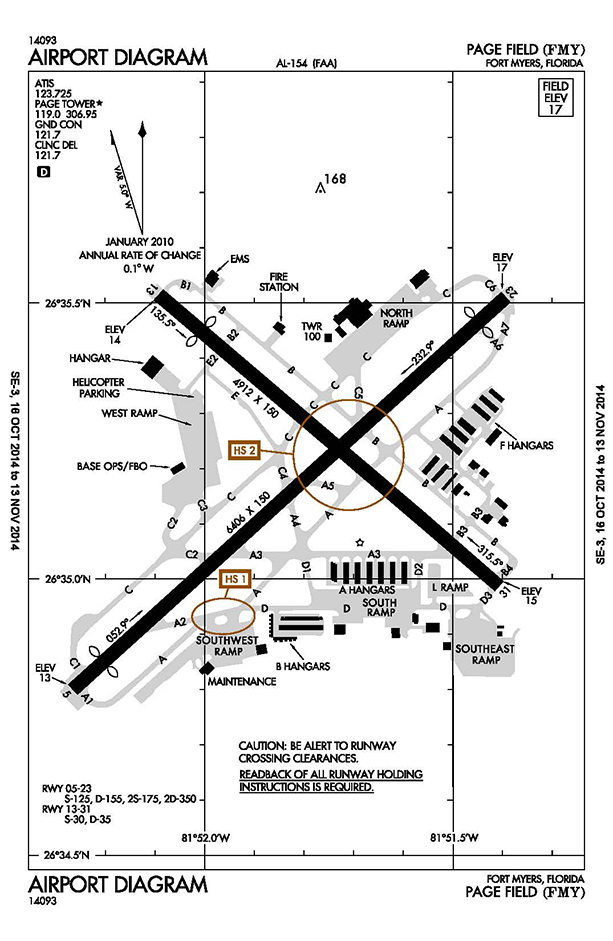 FMY Airport Diagram_Oct 10 2014