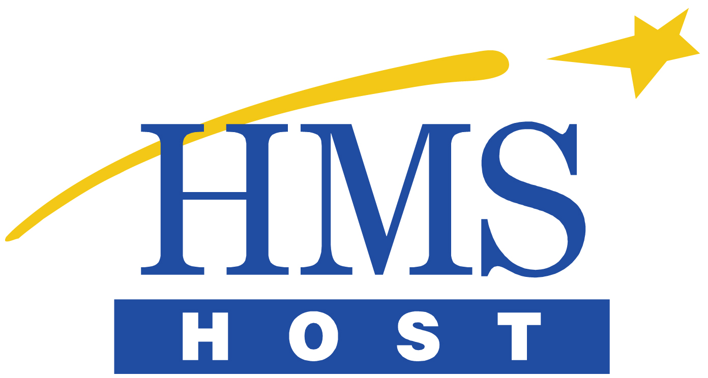 HMSHost logo with External Link to company website